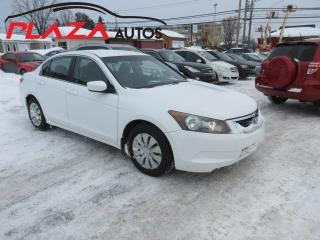 Used 2008 Honda Accord LX for sale in Beauport, QC