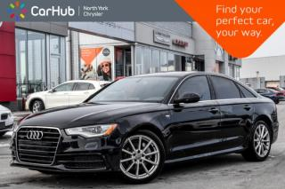 Used 2015 Audi A6 3.0L TDI Technik|Sunroof|Navi|Sat.Radio|Heat.Seats&Steer-Wheel|KeyLess| for sale in Thornhill, ON