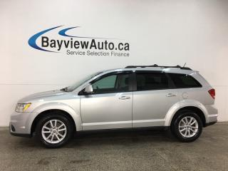 Used 2014 Dodge Journey SXT - SUNROOF! 3 ZONE CLIMATE! DVD! NAV! ALPINE! U-CONNECT! for sale in Belleville, ON