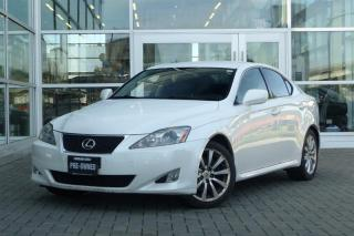 Used 2008 Lexus IS 250 RWD 6A for sale in Vancouver, BC