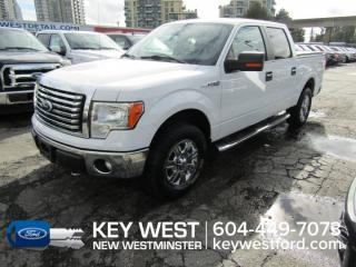 Used 2011 Ford F-150 XLT 4x4 Crew Cab 145wb *One Owner* XTR Tow Pkg Cam for sale in New Westminster, BC