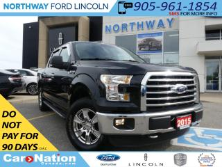 Used 2015 Ford F-150 XLT | PANO ROOF | MYFORD TOUCH | HEATED SEATS | for sale in Brantford, ON