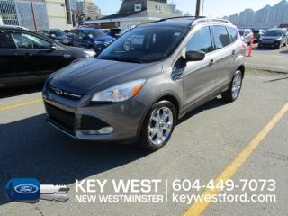 Used 2014 Ford Escape SE Hatchback Leather Cam Sync Back-up Sensors for sale in New Westminster, BC
