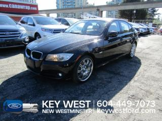 Used 2009 BMW 3 Series 323i Sedan *Low Km's* Sunroof Leather Heated Seats for sale in New Westminster, BC