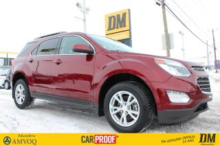 Used 2017 Chevrolet Equinox Lt T.ouvrant Camera for sale in Salaberry-de-Valleyfield, QC