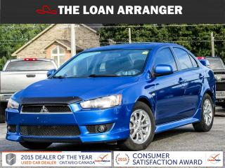 Used 2011 Mitsubishi Lancer for sale in Barrie, ON