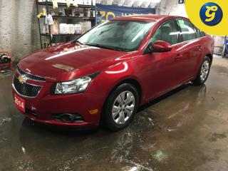 Used 2014 Chevrolet Cruze 1LT*REMOTE START*HANDS FREE STEERING WHEEL CONTROL/VOICE RECOGNITION*PHONE CONNECT*ON STAR*TELESCOPIC STEERING WHEEL* for sale in Cambridge, ON