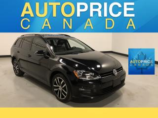 Used 2016 Volkswagen Golf Sportwagon 1.8 TSI Comfortline PANOROOF|LEATHER for sale in Mississauga, ON