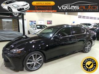 Used 2016 Lexus GS 350 AWD| F-SPORT| SERIES 2| NAVI| CAMERA| SUNROOF for sale in Vaughan, ON