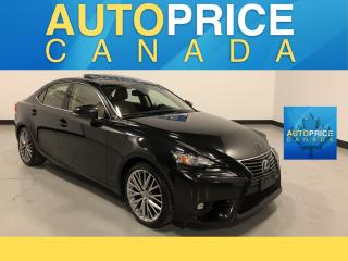 Used 2015 Lexus IS 250 MOONROOF|NAVIGATION|LEATHER for sale in Mississauga, ON