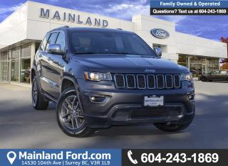 Used 2017 Jeep Grand Cherokee Limited *ACCIDENT FREE* *LOCALLY DRIVEN* for sale in Surrey, BC