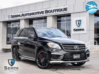 Used 2015 Mercedes-Benz ML-Class for sale in Aurora, ON