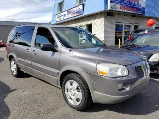 Used 2007 Pontiac Montana SV6 - FULL - A/C - VENTE RAPIDE for sale in Longueuil, QC