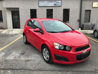 Used 2014 Chevrolet Sonic LS,AUTOMATIC,BLUETOOTH,NO ACCIDENTS for sale in Burlington, ON