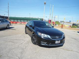 Used 2015 Honda Accord AUTO NO ACCIDENT  LEATHER H SEATS, R CAM, B TOOTH for sale in Oakville, ON