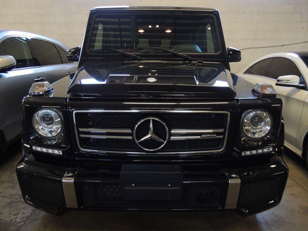 Used 2015 Mercedes-Benz G-Class G63 AMG 4MATIC, NAVI, AWD