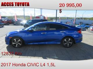 Used 2017 Honda Civic Touring for sale in Rouyn-Noranda, QC