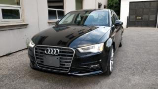 2016 Audi A3 2.0T Technik! Balance of Warranty! No Accidents!