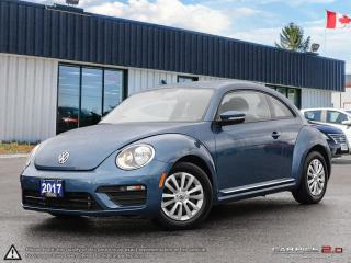 Used 2017 Volkswagen New Beetle TRENDLINE,REARVIEW CAM,B.TOOTH,HEATED SEATS for sale in Barrie, ON