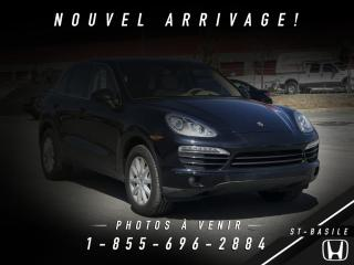 Used 2014 Porsche Cayenne EXCELLENTE CONDITION + BAS KILO + WOW!! for sale in St-Basile-le-Grand, QC