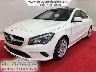 Used 2018 Mercedes-Benz CLA-Class CLA 250 + 4MATIC + ROUES 17