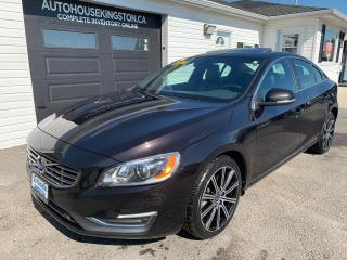 Used 2015 Volvo S60 T6 Premier Plus for sale in Kingston, ON