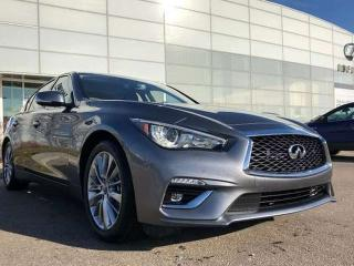 Used 2019 Infiniti Q50 EXECUTIVE DEMO/3.0t SPORT SENSORY for sale in Edmonton, AB