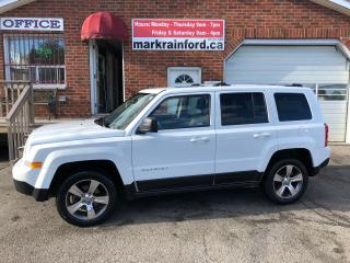 Used 2017 Jeep Patriot High Altitude 4x4 Leather Sunroof Bluetooth for sale in Bowmanville, ON