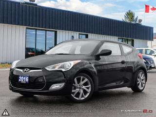 Used 2016 Hyundai Veloster Base,ECO,REARVIEW,B.TOOTH,PADDLE SHIFTERS for sale in Barrie, ON