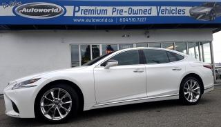 Used 2018 Lexus LS *Executive Package, Low Kms* for sale in Langley, BC