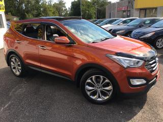 Used 2013 Hyundai Santa Fe LIMITED/ 2.0 AWD/ LEATHER/ SUNROOF/ NAVI/ CAMERA for sale in Scarborough, ON