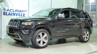 Used 2014 Jeep Grand Cherokee OVERLAND ** DIESEL ** for sale in Blainville, QC