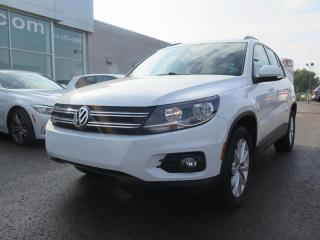 Used 2015 Volkswagen Tiguan COMFORTLINE for sale in St-Léonard, QC
