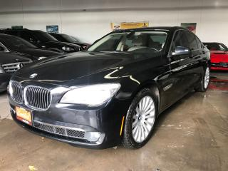 Used 2012 BMW 7 Series 750i xDrive, CLEAN CARPROOF for sale in North York, ON