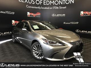 Used 2019 Lexus ES 350 DEMO UNIT - ULTRA LUXURY PACKAGE for sale in Edmonton, AB