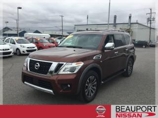 Used 2017 Nissan Armada SL ***38 500 KM*** for sale in Beauport, QC