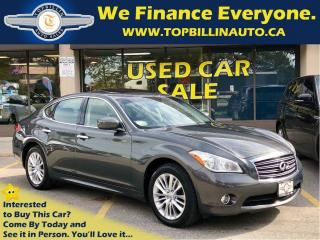 Used 2012 Infiniti M37x Navigation, Active Cruise, Extra Clean for sale in Vaughan, ON