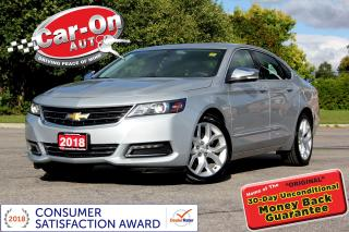 Used 2018 Chevrolet Impala Premier LEATHER NAV PANO ROOF REAR CAM LOADED for sale in Ottawa, ON