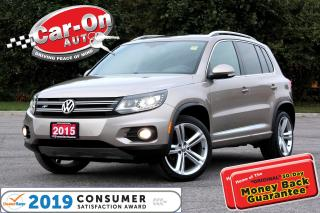 Used 2015 Volkswagen Tiguan R-Line 4Motion LEATHER NAV PANO ROOF REAR CAM for sale in Ottawa, ON