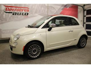 Used 2013 Fiat 500 C Lounge Convertible for sale in Lévis, QC