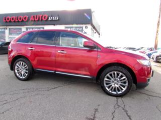 Used 2011 Lincoln MKX AWD NAVIGATION PANORAMIC SUNROOF CERTIFIED 2YR WARRANTY for sale in Milton, ON