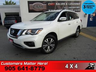 Used 2017 Nissan Pathfinder SV  4X4 7-PASS P/SEAT CAM HS BT TOW for sale in St. Catharines, ON