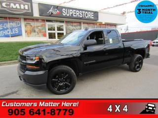Used 2017 Chevrolet Silverado 1500 LS  4X4 CAMERA 7 -TOUCH MY-LINK BT 20 -BLK-ALLOYS TOW for sale in St. Catharines, ON