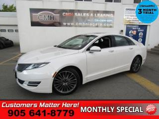 Used 2015 Lincoln MKZ Reserve  AWD TECH-PKG ADAP-CC SELF-PARK LANE-KEEP NAV ROOF for sale in St. Catharines, ON