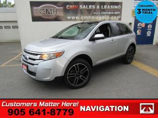 Used 2014 Ford Edge SEL  NAV LEATHER DUAL-DVDs ROOF P/SEATS P/GATE 20 -ALLOYS for sale in St. Catharines, ON