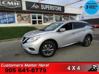 Used 2017 Nissan Murano SL  AWD LEATH BOSE 360-CAM BS RADAR 2X-P/SEATS MEM NAV ROOF for sale in St. Catharines, ON