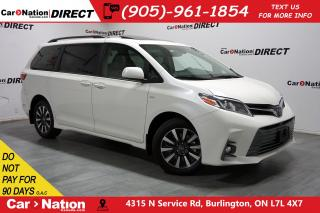 Used 2018 Toyota Sienna XLE| AWD| NAVI| SUNROOF| LEATHER| for sale in Burlington, ON