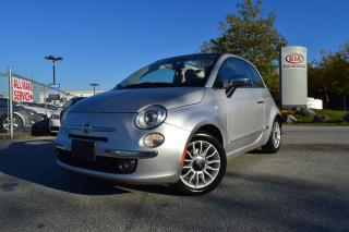 Used 2013 Fiat 500 Lounge PL/PW/AUTO for sale in Coquitlam, BC