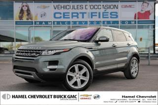 Used 2015 Land Rover Evoque 4x4+navigation+toit for sale in St-Léonard, QC