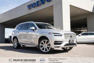 Used 2018 Volvo XC90 T6 AWD Inscription VISION - CLIMATE - CONVENIENCE - 21 INCH WHEELS for sale in Vancouver, BC
